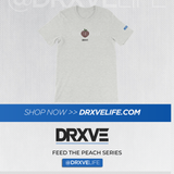FEED THE PEACH Minimal - DRXVE Short-Sleeve Unisex T-Shirt