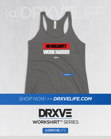 NO BULLSH*T - DRXVE Women's Racerback Workout Tank