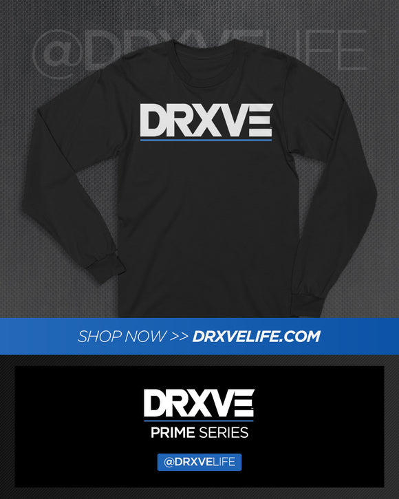 DRXVE Black Long Sleeve T-Shirt Houston
