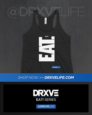 EAT! NOW! V1 - DRXVE Women's Racerback Tank **Different Colors to Choose From**
