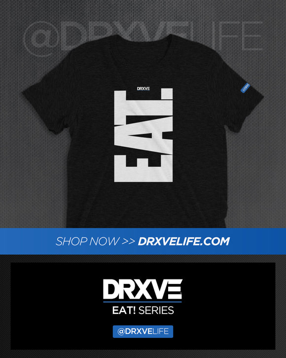 EAT! NOW! V1 - DRXVE META SPORT Tri-blend Workout Shirt