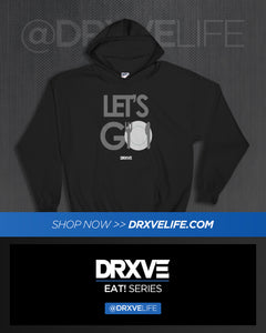 LET'S GO! STEALTH - DRXVE Full Sized Unisex Hoodie