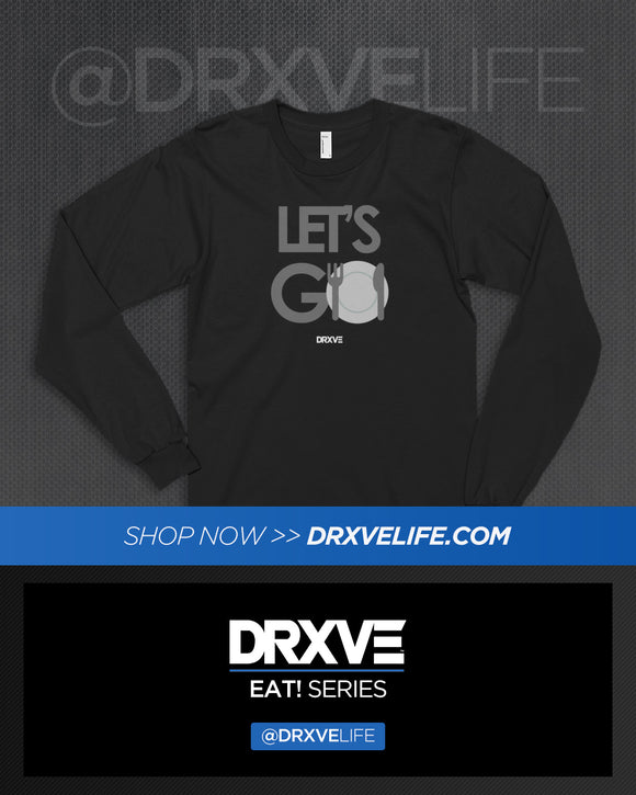 LETS GO! 🍽META LONG - DRXVE Long Sleeve T-Shirt