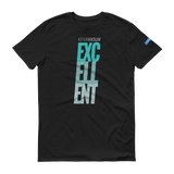 SETTLE FOR EXCELLENT v3 GREEN - Unisex Workout Shirt (Multiple Colors Available)