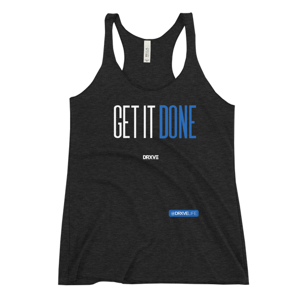 GET IT DONE - DRXVE Women's Racerback Tank **Multicolor