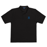 MACHINE COACH - Men's Premium Polo Shirt (Black or White)e)