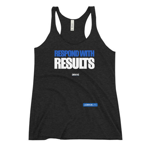RESPOND with RESULTS - Women's Racerback Tank **Multicolor