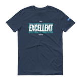 SETTLE FOR EXCELLENT v2 GREEN - Unisex Workout Shirt (Multiple Colors Available)