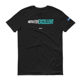 SETTLE FOR EXCELLENT v1 GREEN - Unisex Workout Shirt (Multiple Colors Available)
