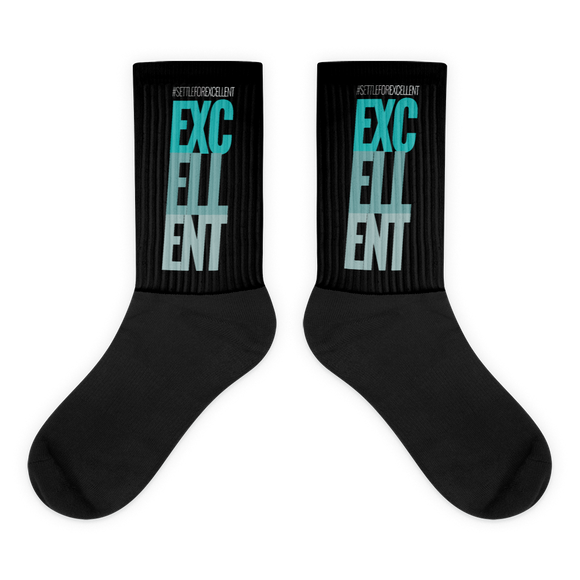 SETTLE FOR EXCELLENT Session Socks - @DRXVELIFE
