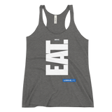 EAT! NOW! V1 - DRXVE Women's Racerback Tank (Grey or Black)