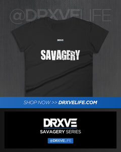 SAVAGERY CIRCUIT - DRXVE Women's Modern Fit Shirt