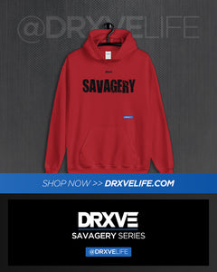 SAVAGERY STEALTH - DRXVE Full Sized Hoodie