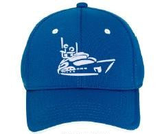 My Yacht® Group  - Monaco / USA Grand Prix Cap - Royal Blue / White