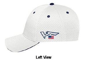 My Yacht® Group - Monaco / USA Grand Prix Branded Cap - White / Blue