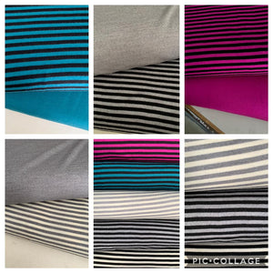 Different types of knit fabrics