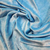Medium Blue Bamboo Velour