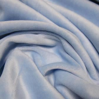 Blue Bonnet Cotton Velour