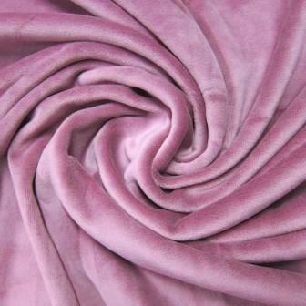 Juicy Victorian Mauve Cotton Velour
