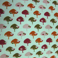 Apples Trees on Green Cotton Thermal