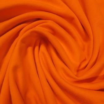 Orange Cotton Interlock