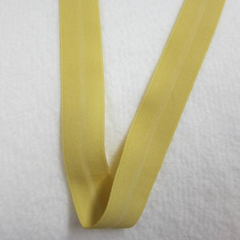 "5/8"" Matte Fold Over Elastic-Goldenrod"