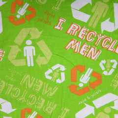 David & Goliath I Recycle Men on Cotton Jersey