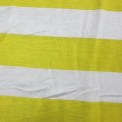 Yellow and White 3/4
