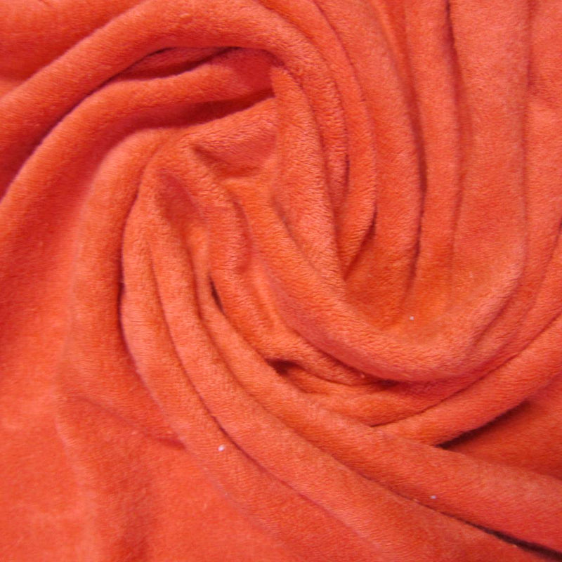 Red Cotton Loop Terry