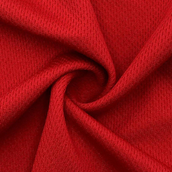Light Red Polyester Athletic Wicking Jersey