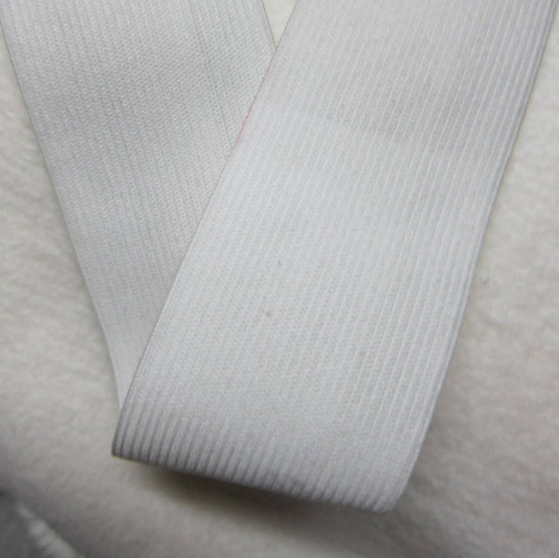 "2"" White Knit Elastic"