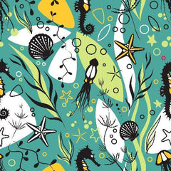 Undersea Life 1 mil PUL - Made in the USA - Nature's Fabrics