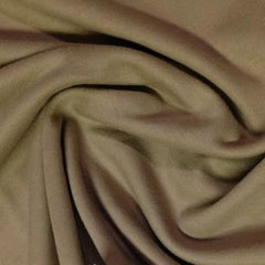Medium Brown Cotton Interlock