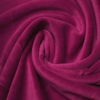 Light Plum Cotton Velour