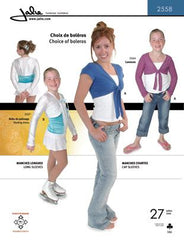 Jalie Pattern 2558 Choice of Shrugs
