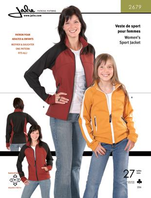 Jalie Pattern 2679 Softshell Jacket