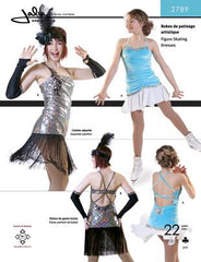Jalie Pattern 2789 Flapper Ice Dancing Dress and Fingerless Gloves