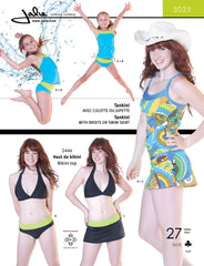 Jalie Pattern 3023 Tankini / Skirtini (Swim)