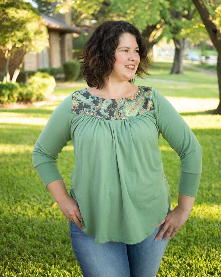 Soft Olive Bamboo/Spandex Jersey