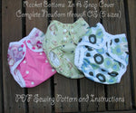Rocket Bottoms In a Snap Diaper Cover