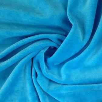 Topaz Organic Cotton Velour Imported, $7.63/yd -Rolls