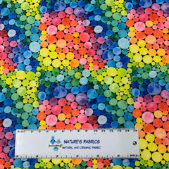 Watercolor Rainbow 1 mil PUL - Made in the USA