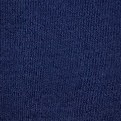 Navy 97% Organic Merino Wool and 3% Spandex Interlock- Feltable