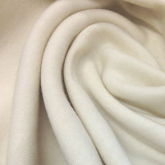 97% Organic Wool 3% Spandex Interlock-Extra Soft Feltable