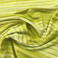 Citrus Stripes on Bamboo/Spandex Jersey