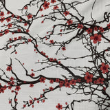 Cherry Blossoms on Bullet Knit - Nature's Fabrics