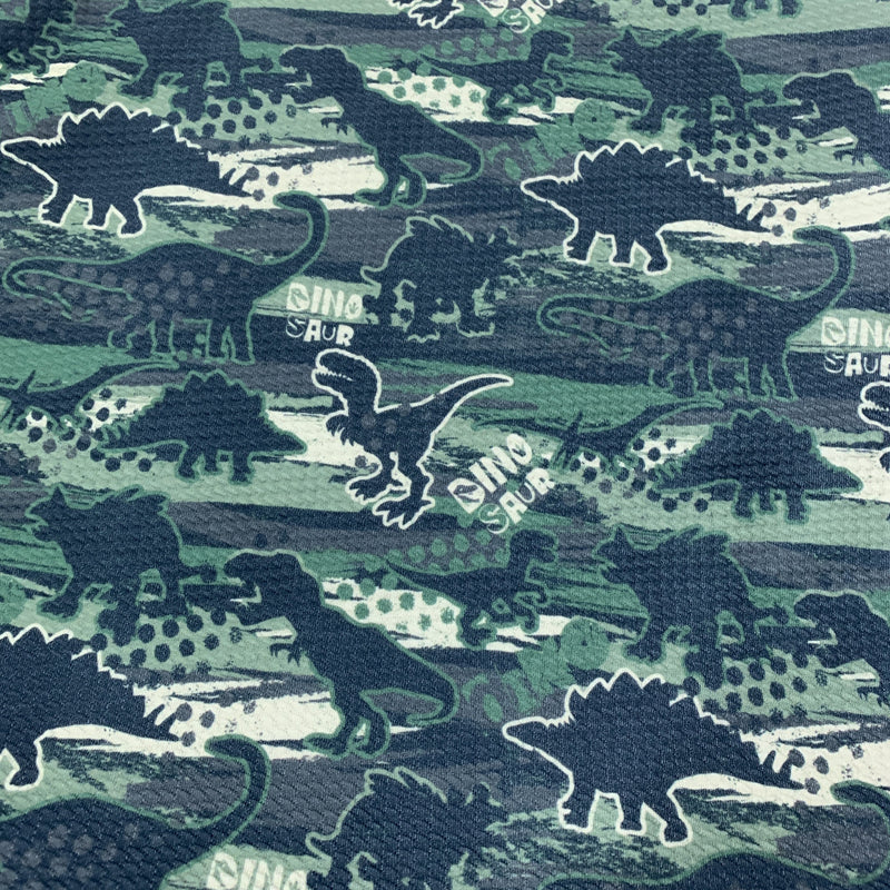 Dinosaur Camo on Bullet Knit