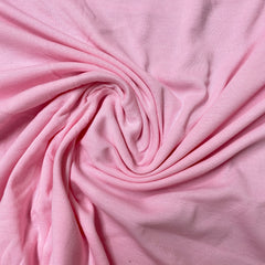 Medium Pink Cotton Rib Knit