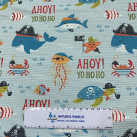 Ahoy Mate on Bullet Knit - Nature's Fabrics