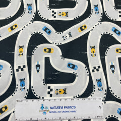 Tropical Fruit on Organic Cotton/Spandex Jersey